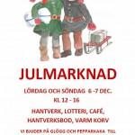 Julmarknadsaffisch 2014