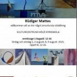 Mattes affisch med logga till hemsidan