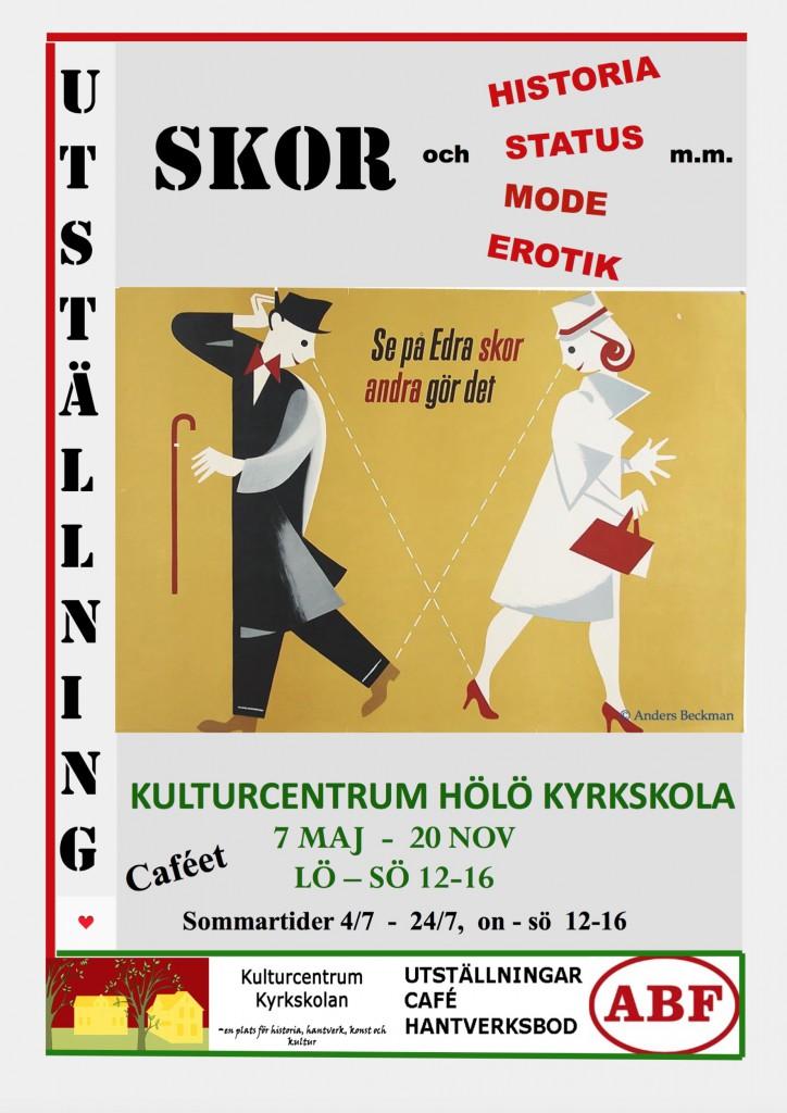 SKOR och Historia-Status-Mode-Erotik-mm. @ Kyrkskolans Caféet