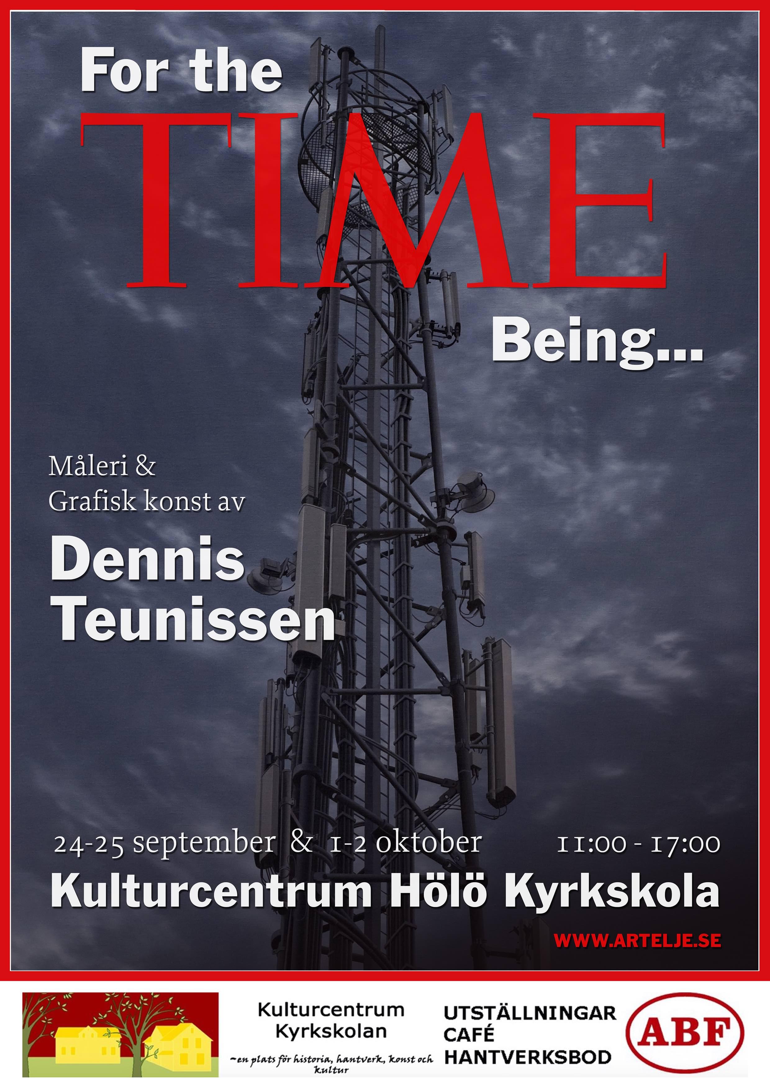 Dennis Teunissen Konstutställning @ Kulturcentrum Hölö Kyrkskola