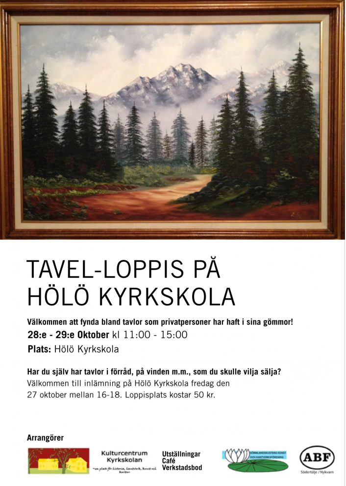 Tavel-Loppis @ Gula Salen / Kyrkskolan