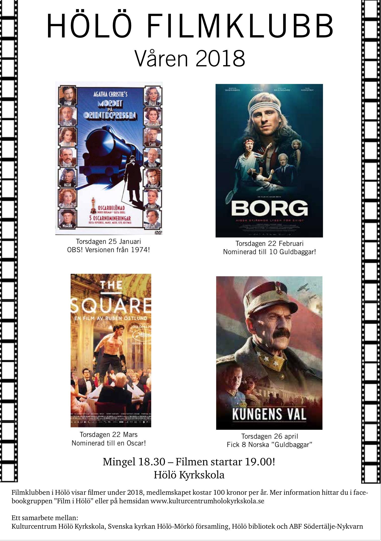 """Filmklubben visar """"The square (Rutan)"""" @ Hölö Kyrkskola"""