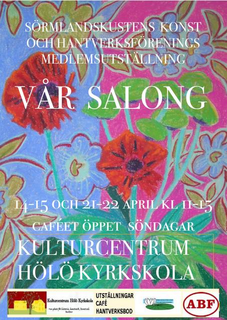 Vår Salong - SKHF:s årliga medlemsutställning @ Kulturcentrum Hölö Kyrkskola