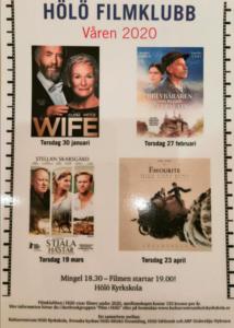 Filmklubben visar . WIFE kl 19.00 @ GulaSalen i Hölö Kyrkskola