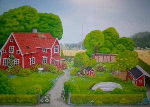 Gåramålningar och gåramålare @ GulaSalen i Hölö Kyrkskola