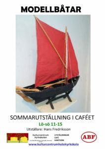Modellbåtar @ Kaféet på Hölö Kyrkskolan